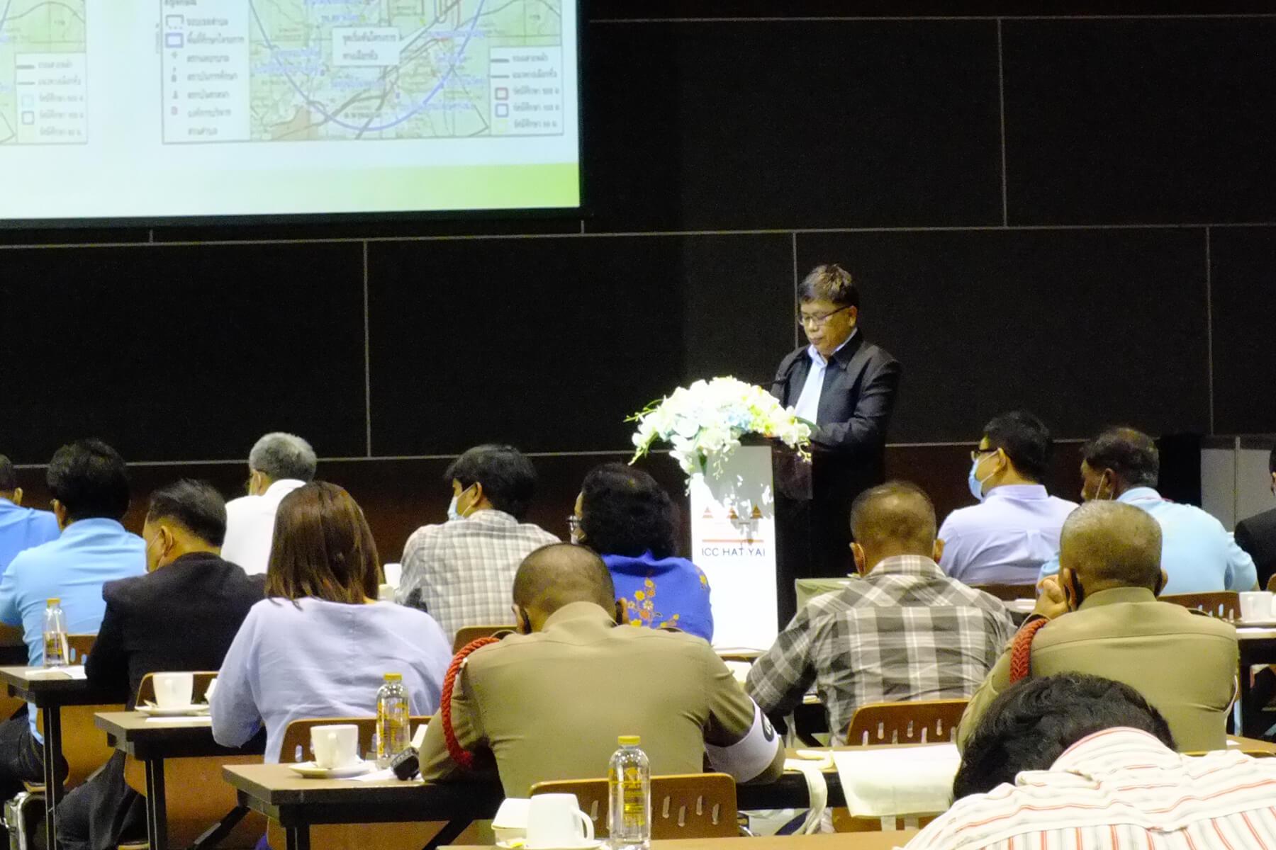 8 ปฐมนิเทศออกแบบถนนทางหลวงชนบท ICC HATYAI ศูนย์ประชุมนานาชาติฉลองสิริราชสมบัติครบ ๖๐ ปี